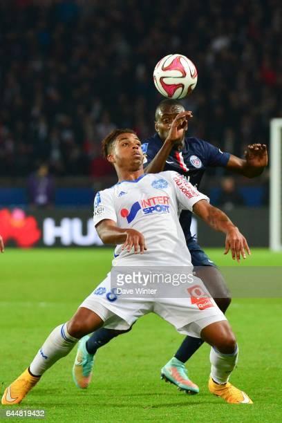 Mario LEMINA / Blaise MATUIDI Paris Saint Germain / Marseille 13eme journee de Ligue 1 Photo Dave Winter / Icon Sport