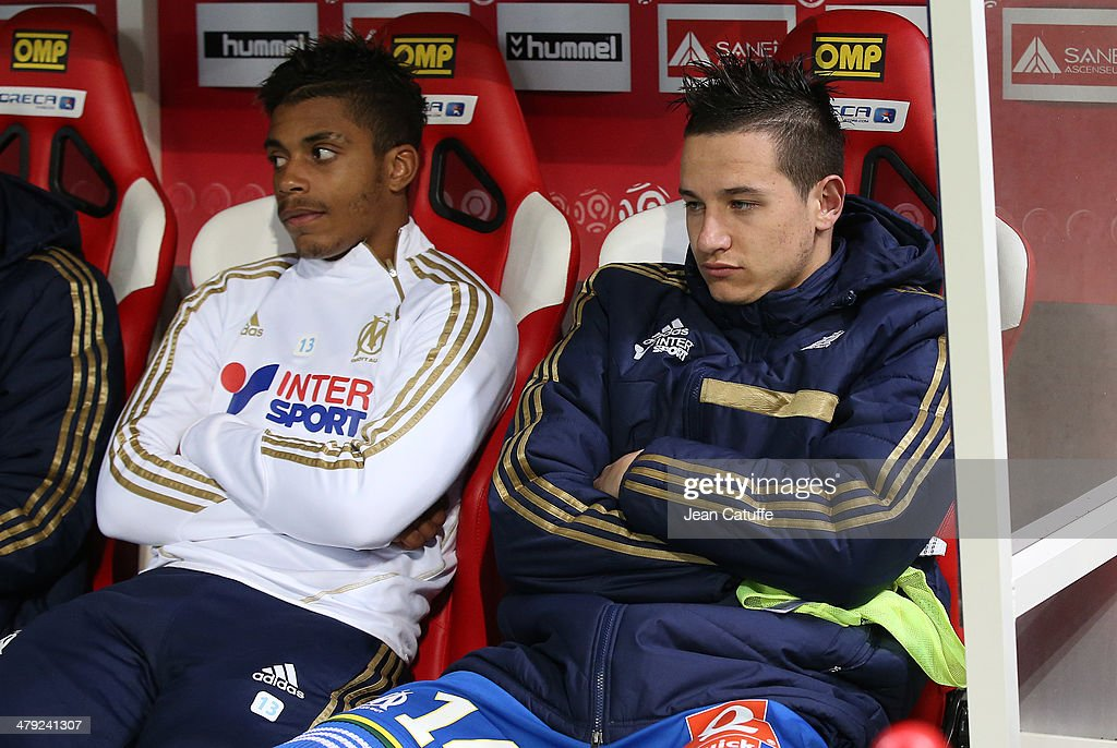 Stade de Reims v Olympique de Marseille - Ligue 1 : Photo d'actualité