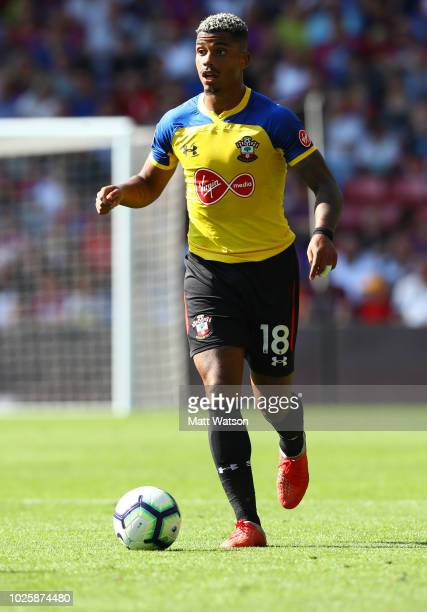Mario Lemina of Southampton during the Premier League match between Crystal Palace and Southampton FC at Selhurst Park on September 1 2018 in London...