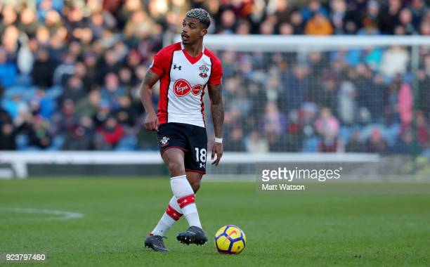 Mario Lemina of Southampton during the Premier League match between Burnley and Southampton at Turf Moor on February 24 2018 in Burnley England