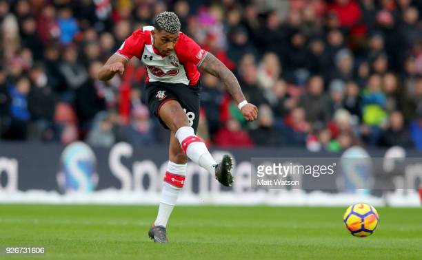 Mario Lemina of Southampton during the Premier League match between Southampton and Stoke City at St Mary's Stadium on March 3 2018 in Southampton...