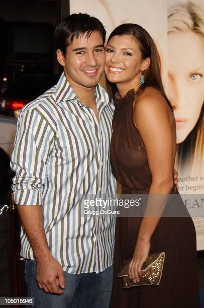 Mario Lopez Ali Landry during White Oleander Premiere Los Angeles at Grauman's Chinese Theatre in Hollywood California United States