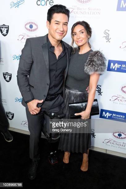 Mario Lopez and Courtney Laine Mazza attend The Brent Shapiro Foundation Summer Spectacular on September 7 2018 in Beverly Hills California