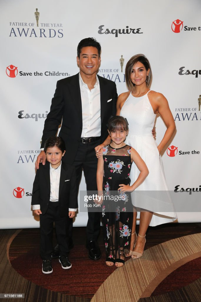 Mario Lopez And Family Attend The 77th Annual Father Of The