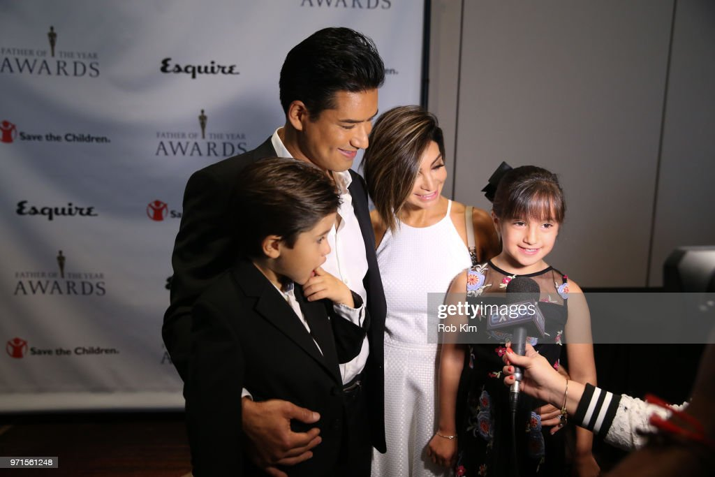 Mario Lopez And Family Talk With The Media At The 77th