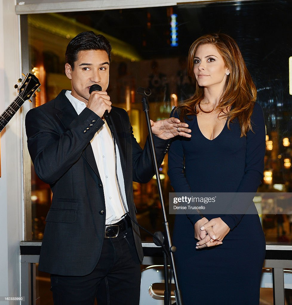 Mario Lopez and Maria Menounos host the Have A Heart benefit for organ donor recipients and their families at Mixology LA at the Farmers Market on February 21, 2013 in Los Angeles, California.