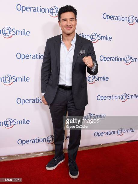 Mario Lopez arrives at Operation Smile's Hollywood Fight Night at The Beverly Hilton Hotel on November 6, 2019 in Beverly Hills, California.