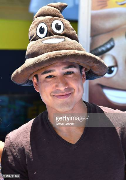Mario Lopez arrives at the Premiere Of Columbia Pictures And Sony Pictures Animation's 'The Emoji Movie' at Regency Village Theatre on July 23 2017...