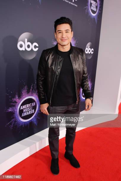 Mario Lopez attends the 2019 American Music Awards at Microsoft Theater on November 24 2019 in Los Angeles California