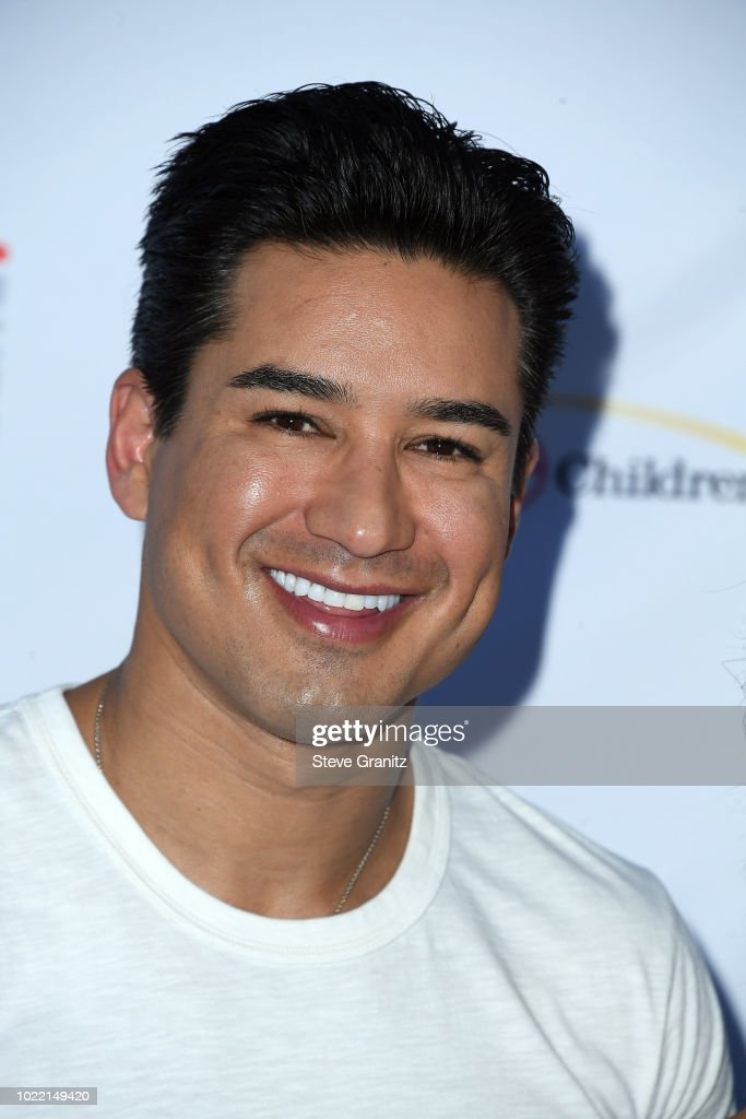 Mario Lopez attends the 6th annual PingPong4Purpose at Dodger Stadium on August 23, 2018 in Los Angeles, California.