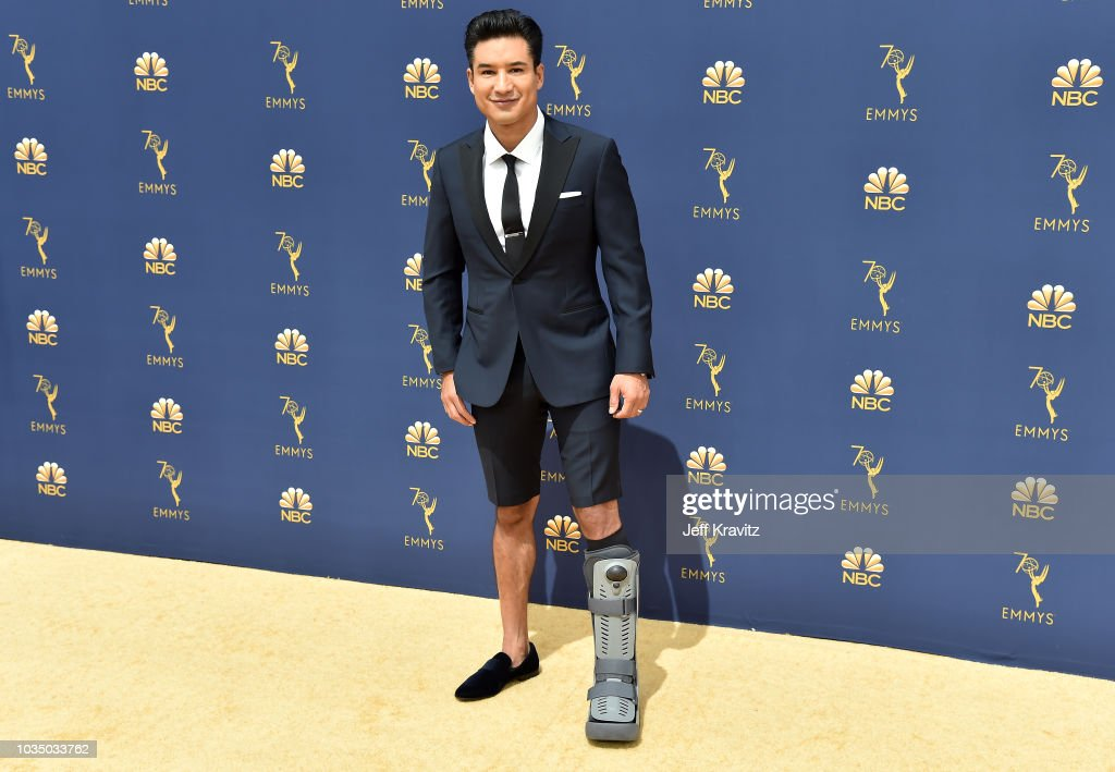 Mario Lopez attends the 70th Emmy Awards at Microsoft Theater on September 17, 2018 in Los Angeles, California.