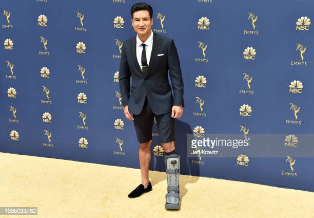 Mario Lopez attends the 70th Emmy Awards at Microsoft Theater on September 17 2018 in Los Angeles California