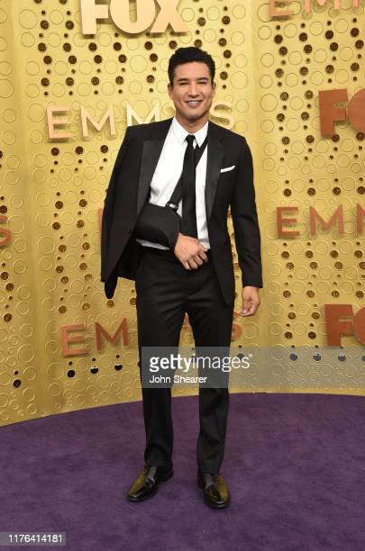 Mario Lopez attends the 71st Emmy Awards at Microsoft Theater on September 22 2019 in Los Angeles California