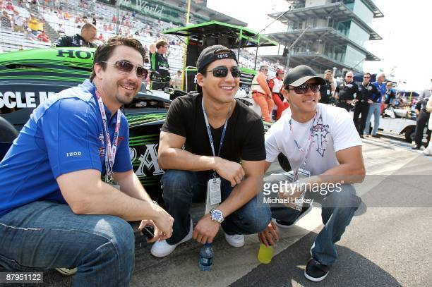Mario Lopez attends the 93rd running of the Indianapolis 500 at Indianapolis Motor Speedway on May 24, 2009 in Indianapolis, Indiana.