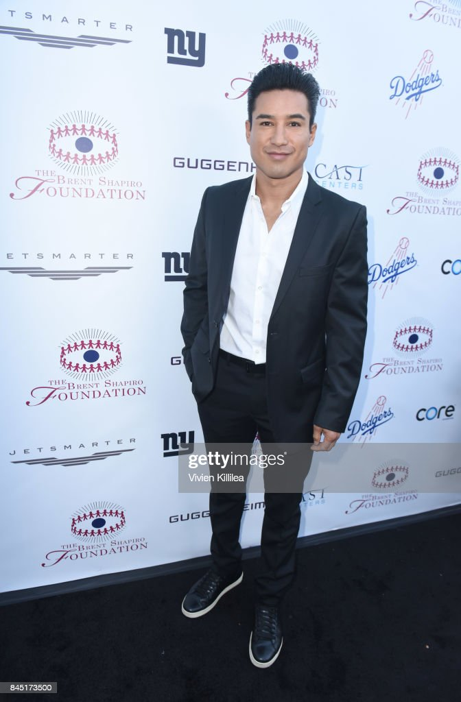 Mario Lopez attends The Brent Shapiro Foundation Summer Spectacular on September 9, 2017 in Los Angeles, California.