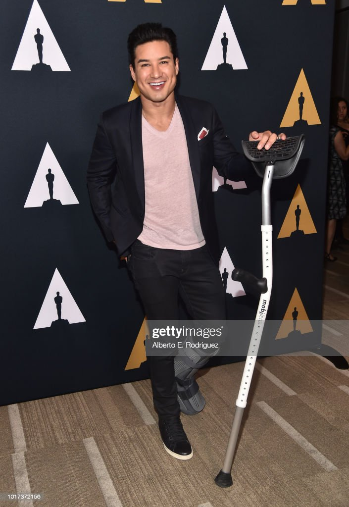 Mario Lopez attends the 'Grease' 40th anniversary screening at Samuel Goldwyn Theater on August 15, 2018 in Beverly Hills, California.