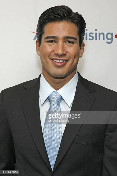 Mario Lopez during Celebrities Unveil AOL's Entertainment Programming Slate for 20072008 April 17 2007 at Time Warner Center Jazz at Lincoln Center...