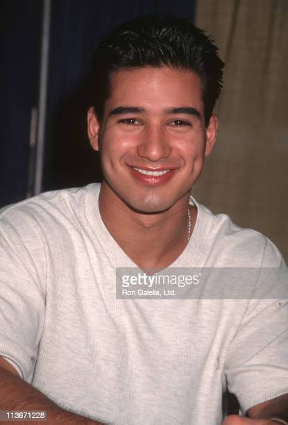 Mario Lopez during USDA Convention July 10 1997 at Las Vegas Convention Center in Las Vegas Nevada United States