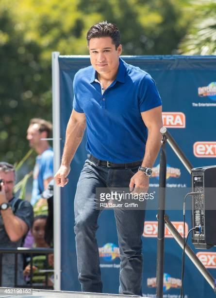 Mario Lopez is seen on July 15 2014 in Los Angeles California