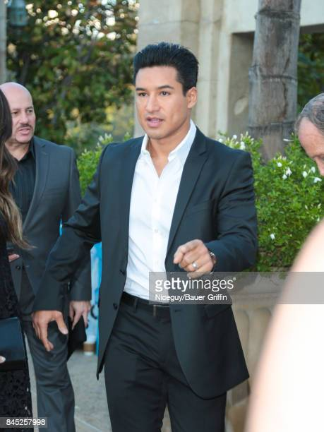 Mario Lopez is seen on September 09 2017 in Los Angeles California