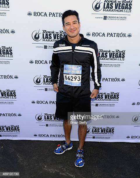 Mario Lopez rocked the #StripatNight in the Zapposcom Rock 'n' Roll 1/2  of the 1/2 in Las Vegas on Sunday November 16th benefitting the Crohn's...