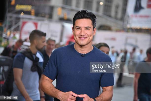 Mario Lopez Tapes Extra at The Levi's Store Times Square on May 17 2019 in New York City