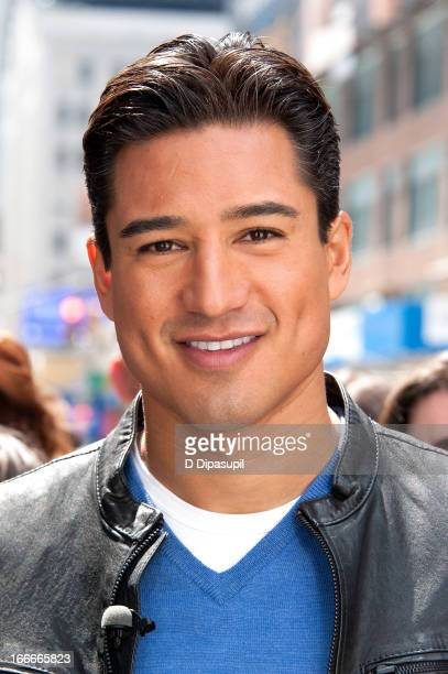 Mario Lopez visits 'Extra' in Times Square on April 15 2013 in New York City