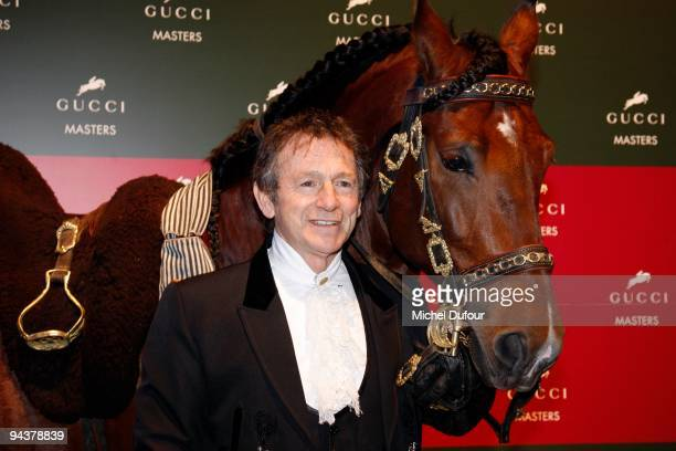 Mario Luraschi attends the International Gucci Masters Competition - Day 4 at Paris Nord Villepinte on December 13, 2009 in Paris, France.
