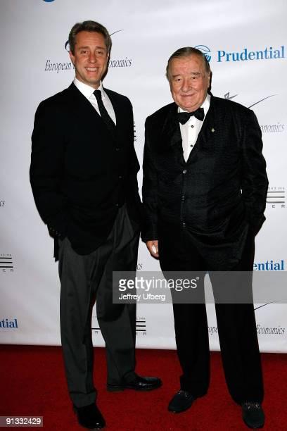 Mario Maccioni and father and founder of Le Cirque Sirio Maccioni attend the inaugural Health Is Wealth Gala at The Pierre Grand Ballroom on December...