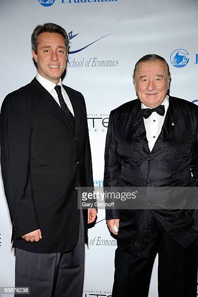 Mario Maccioni and founder of Le Cirque Sirio Maccioni attend the inaugural Health Is Wealth gala at The Pierre Grand Ballroom on December 1 2008 in...