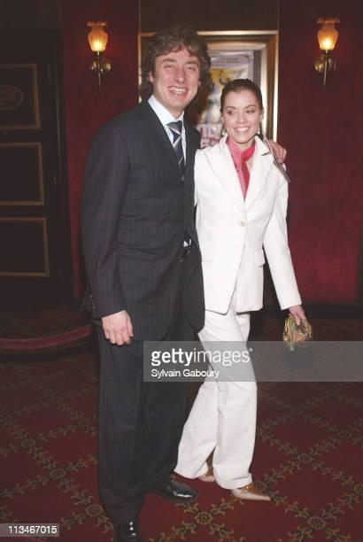 Mario Maccioni Angela Cole during New York premiere of Kung Fu Hustle at Ziegfeld Theater in New York New York United States