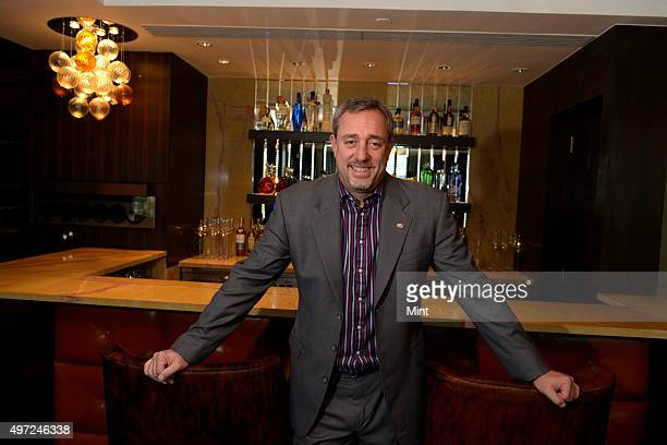 Mario Maccioni owner of restaurant Le Cirque at Leela hotel photographed on November 29 2013 in Mumbai India
