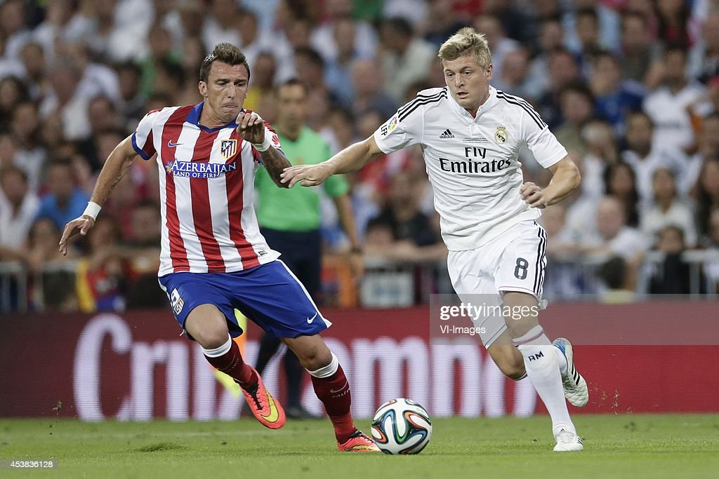 "Spanish Super Cup - ""Real Madrid v Atletico Madrid"" : News Photo"