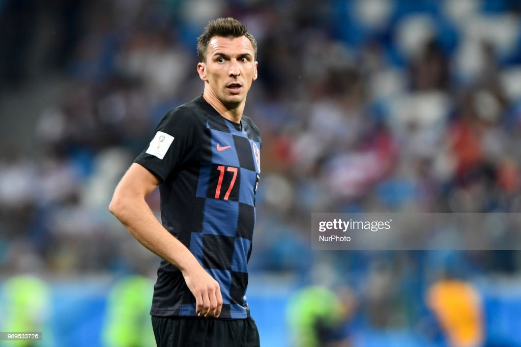 Croatia v Denmark: Round of 16 - 2018 FIFA World Cup : News Photo