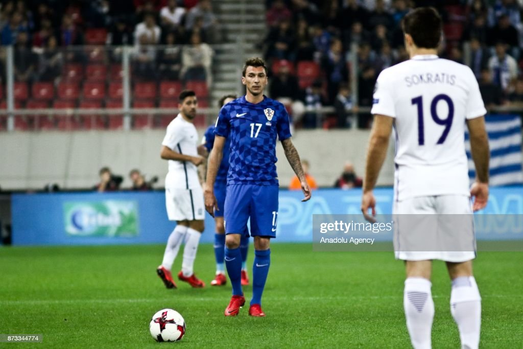 Greece vs Croatia: 2018 FIFA World Cup Qualification : Foto di attualità