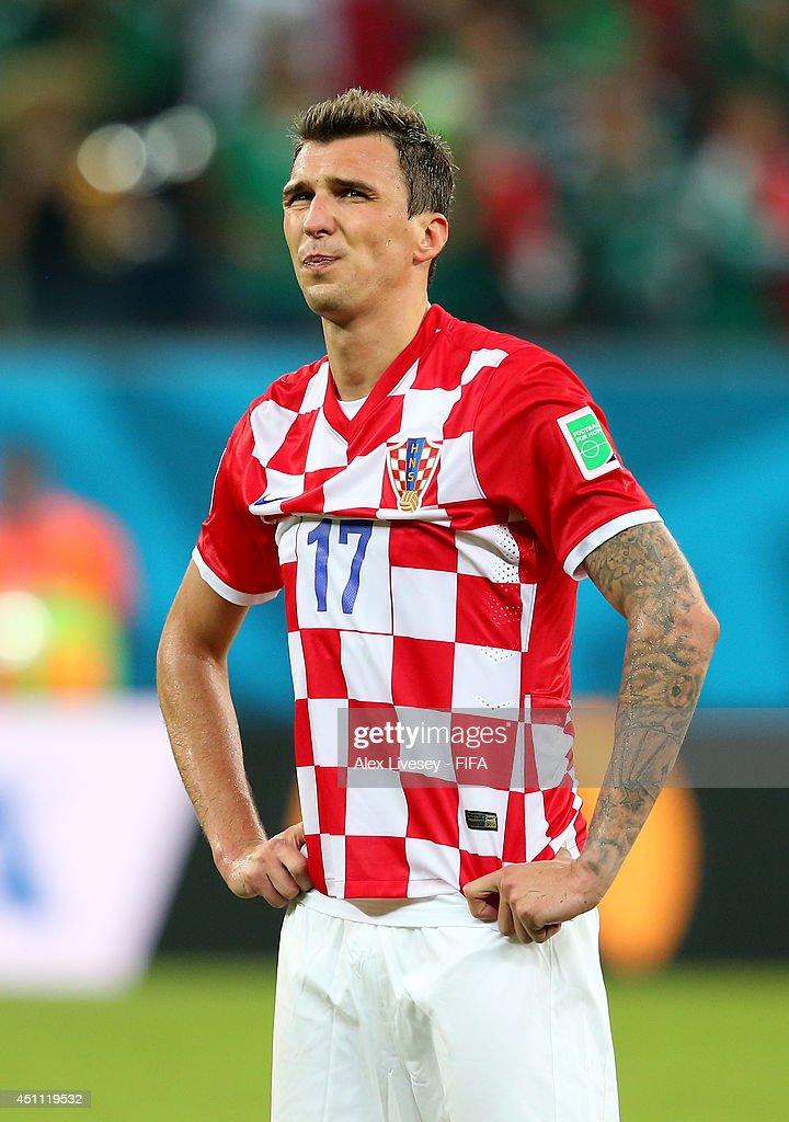 Croatia v Mexico: Group A - 2014 FIFA World Cup Brazil : News Photo
