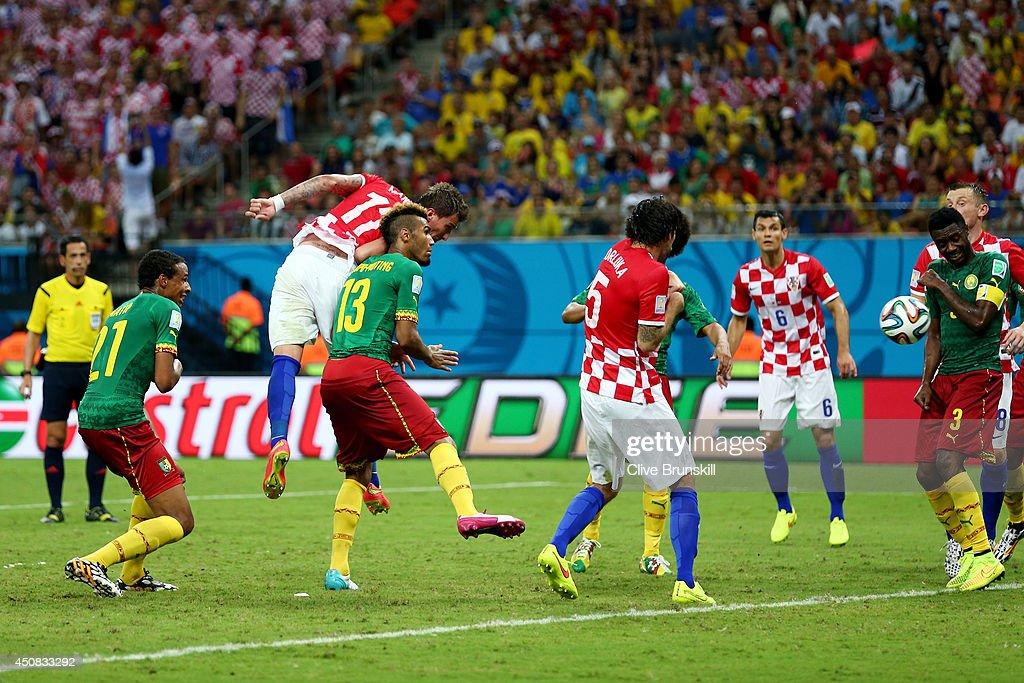 Cameroon v Croatia: Group A - 2014 FIFA World Cup Brazil : News Photo