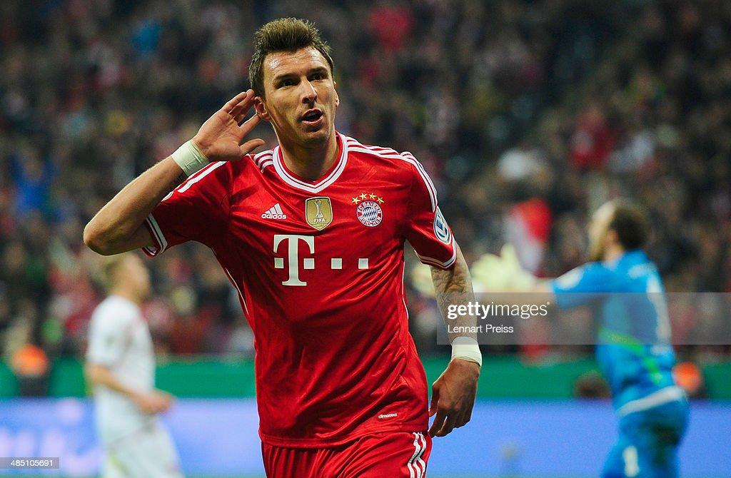 Bayern Muenchen v 1. FC Kaiserslautern - DFB Cup : News Photo