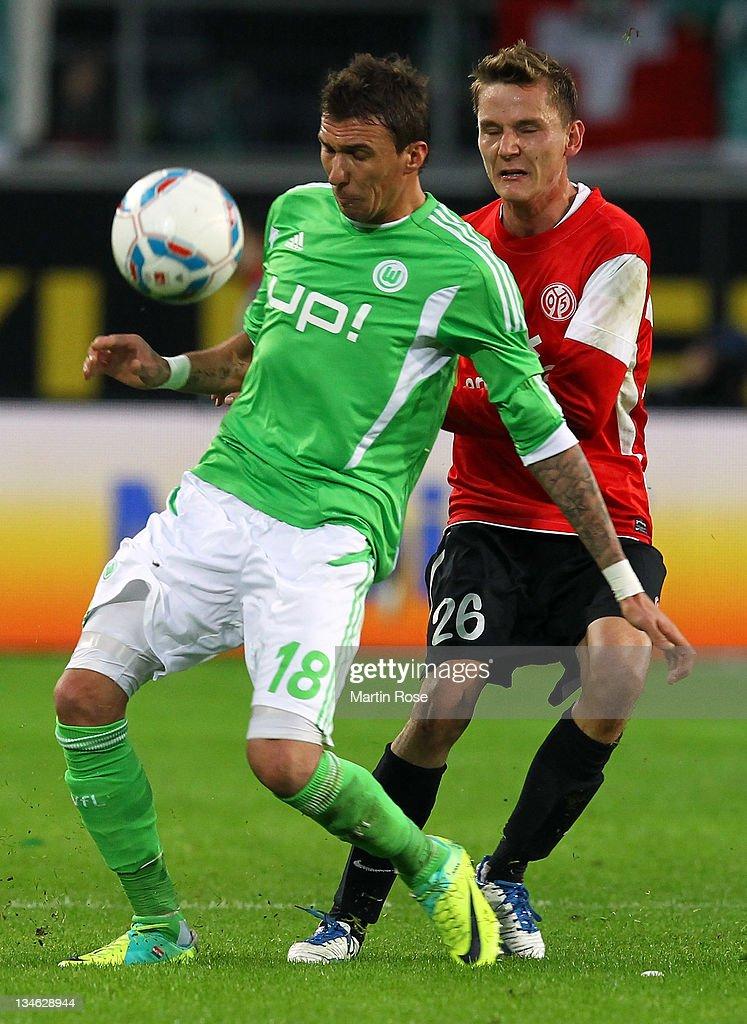 VfL Wolfsburg v FSV Mainz 05  - Bundesliga : Nachrichtenfoto