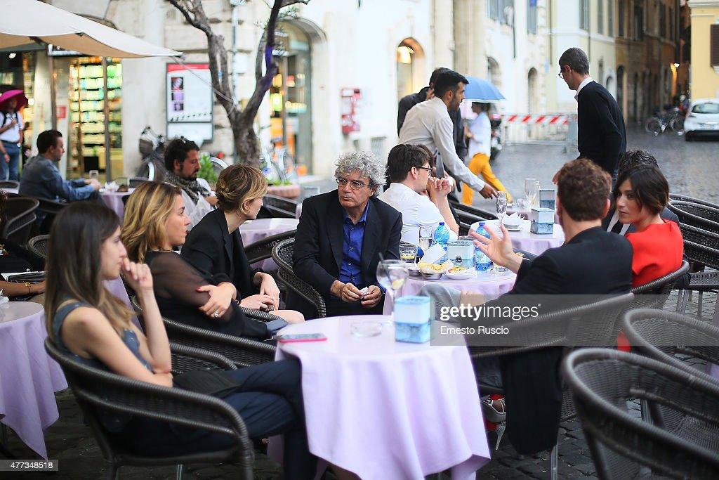 Mario Martone attends the 2015 Globo D'Oro at Piazza Farnese on June 16, 2015 in Rome, Italy.
