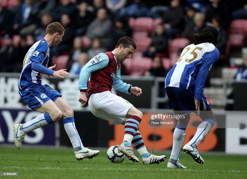 Wigan Athletic v Burnley - Premier League