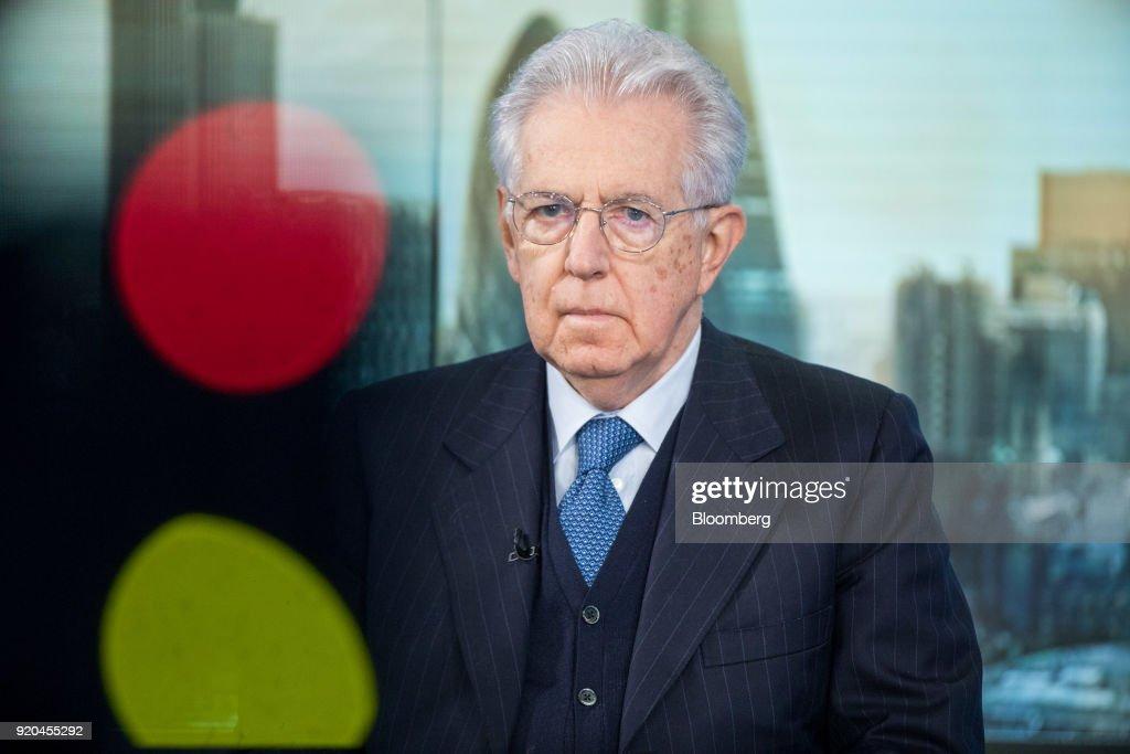 Former Italian Prime Minister Mario Monti Interview