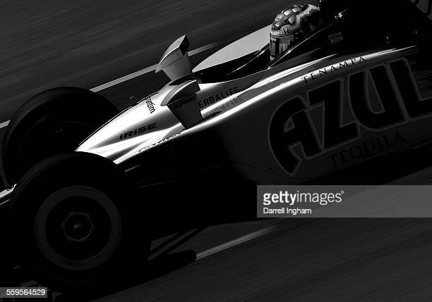 Mario Moraes drives the KV Racing Technology Dallara Honda during practice for the IRL Indycar Series Iowa Corn Indy 250 on June 20 2009 at the Iowa...