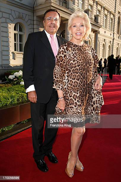 Mario Ohoven and UteHenriette Ohoven attend the Bertelsmann Summer Party at the Bertelsmann representative office on June 6 2013 in Berlin Germany
