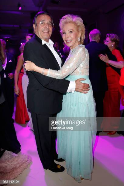Mario Ohoven and UteHenriette Ohoven during the Rosenball charity event at Hotel Intercontinental on May 5 2018 in Berlin Germany