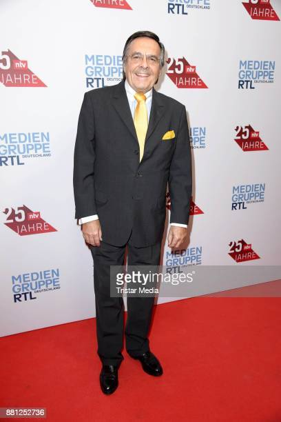 Mario Ohoven attends the 25 years anniversary ntv event at Bertelsmann Repraesentanz on November 28 2017 in Berlin Germany