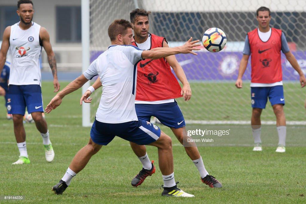 Chelsea on Their Pre-Season to China