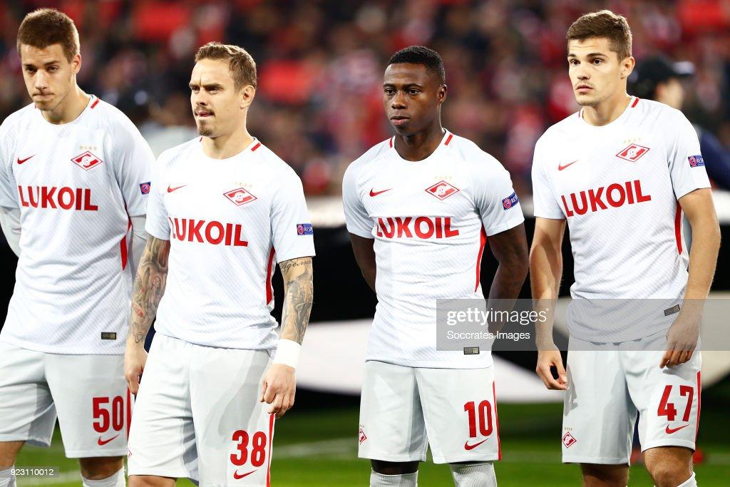 Athletic Bilbao v Spartak Moscow - UEFA Europa League