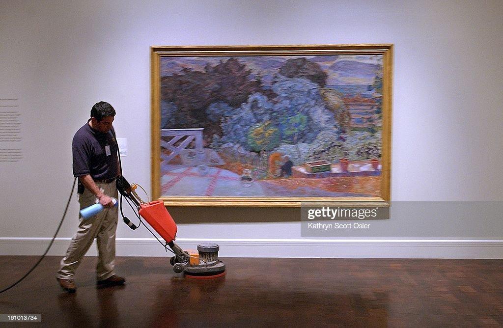 Mario Prieto has been a custodian at the Denver Art Museum