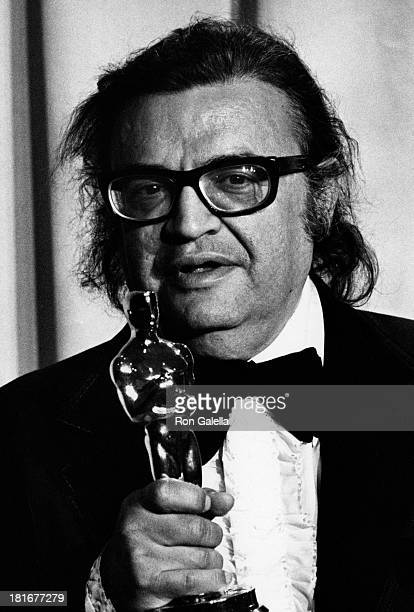Mario Puzo attends 47th Annual Academy Awards on April 8 1975 at the Dorothy Chandler Pavilion in Los Angeles California